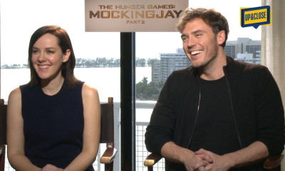 The Hunger Games Mokingjay Part 2 Interview for UP&CLOSE